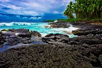 Hawaii Volanic Shoreline