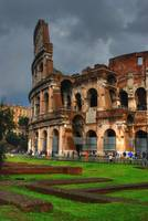 Colosseum in the Storm