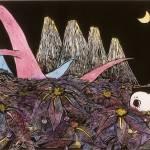 """Hato in Dinosaur Island"" by AyuTomikawa"