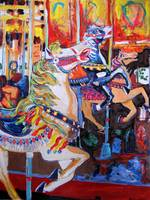 Off to the Races Balboa Park Carousel by Riccoboni
