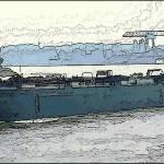 """Barge on the Rhine3"" by billbarber"