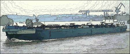 Barge on the Rhine3
