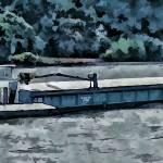 """Barge on the Rhine6"" by billbarber"