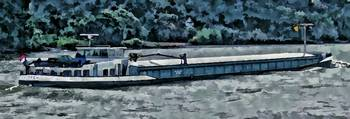 Barge on the Rhine6