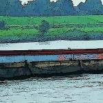 """Barge on the Rhine8"" by billbarber"
