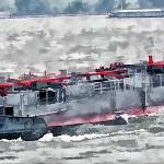 """Barge on the Rhine 11"" by billbarber"