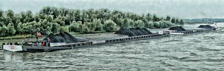 Barge on the Rhine 12