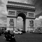 """Arc de Triomphe, Paris, France"" by bhneely"