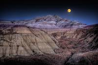 Badlands Moon Rising
