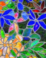 Floral - Stained Glass