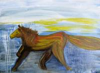 Horse Painting - Journey