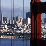 """San Francisco Thru The Golden Gate Bridge"" by sfbayimages"