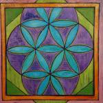 """Flower of Life Segment"" by judithshaw"