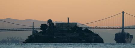 Alcatraz Lighthouse at Dawn