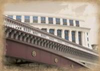 Unilever House from below Blackfriars Bridge