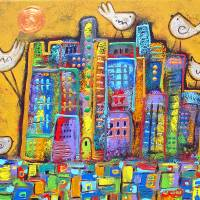 Peace In the City Art Prints & Posters by Juli Cady Ryan