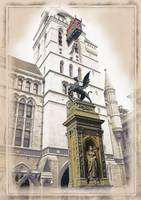 The Royal Courts of Justice & Temple Bar Memorial