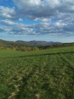 Green Mtns from Hubbardton Battlefield, Vermont