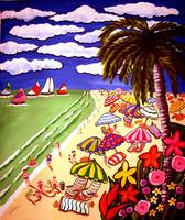 Tropical Beach Scene 2