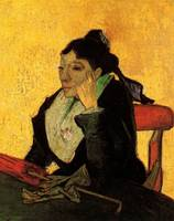 A L Arlesienne Madame Ginoux with Gloves and Umbre