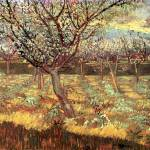 """Apricot Trees in Blossom 2"" by ArtLoversOnline"