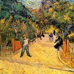 """Entrance to the Public Park in Arles"" by ArtLoversOnline"