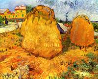 Haystacks in Provence 2