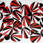 """RED, WHITE AND BLACK"" by dvoradesigns"