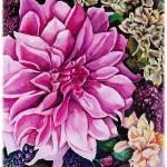 """""""Pink Flower"""" by KarenStrumLLC"""
