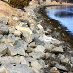 """Cape Cod Canal Rocks #2"" by ktremblay9286"