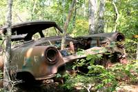 rusty old car