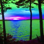 """Canadian Reflections at Lake Catchacoma 3"" by RobertBurns"