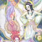 """""""Heavenly Angels"""" by AireenDeviani"""