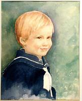 Joey, Portrait of the artist's son