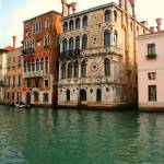 """Venetian palazzos on the grand canal"" by nefernefer_aten"