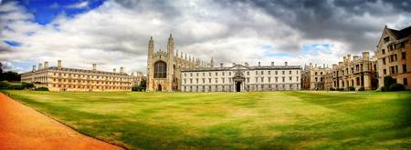 Kings College Panorama, Cambridge