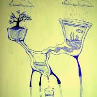 H2O Contraption Art Prints & Posters by Abraham Jeyakumar