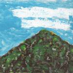 """Clouds Over a Mountaintop"" by spiritualartist"