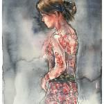 """Galungan Gal"" by CamWilsonArt"