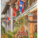 """Luang Prabang Hotel"" by CamWilsonArt"