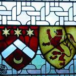 """Stained Glass Window 2-Edinburgh Castle"" by trizzcreations"