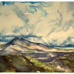 """Mount Batur"" by CamWilsonArt"