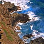 """""""Looking down from the Light house hill Oahu 1"""" by coomBEZ"""