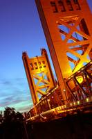 Sacramento Night Bridge