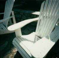 Patio Chair Polaroid