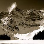 """Mount Sarrail and Rawson Lake, Kananaskis, 2008"" by terynrobinson"