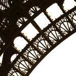 """Eiffel Tower Detail, Paris, France, 2008"" by terynrobinson"
