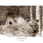 """LAKOTA WINTER - Special Edition Sepia"" by designsandimages"