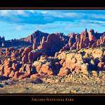 """POSTER - Arches National Park"" by robgerman"
