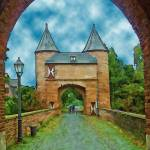 """Xanten, Outer Cleves Gate"" by billbarber"